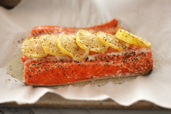 salmon from oven