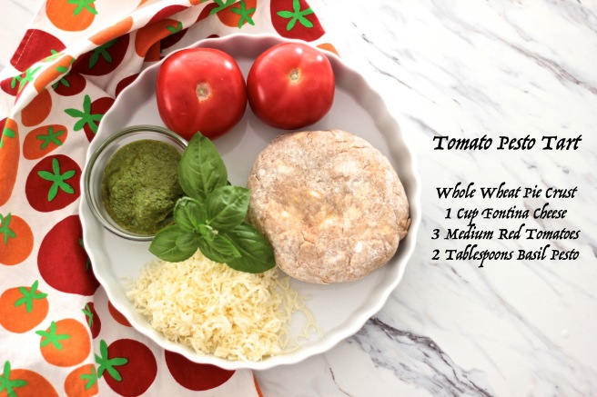 tomato pesto tart ingredients copy