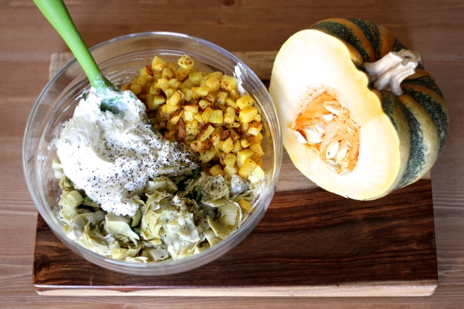 pumpkin artichoke dip ingredients