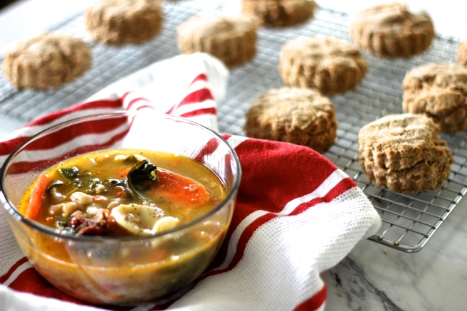 tuscan white bean soup 2